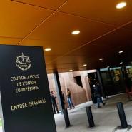 Eingang zum Europäischen Gerichtshof in Luxemburg