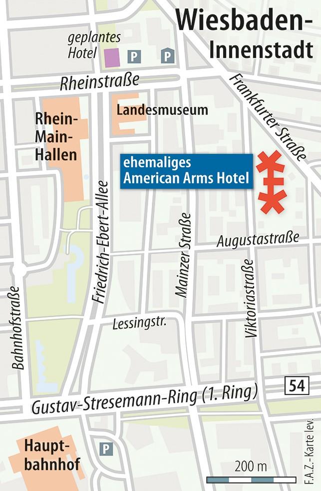 Wiesbaden Karte.Bild Zu Großes Wohnquartier In Zentraler Lage In Wiesbaden Bild 1