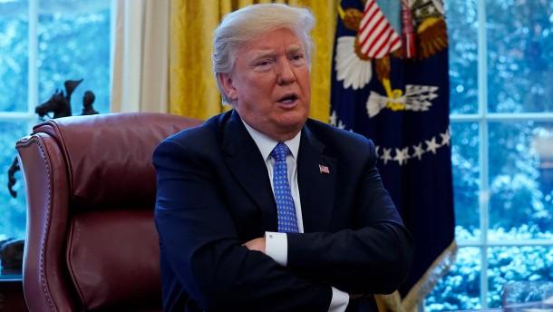 Trump: Russland untergräbt Sanktionen gegen Nordkorea