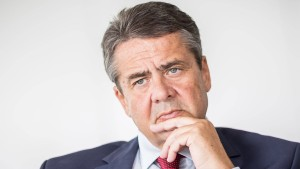 Gabriel glaubt offenbar nicht mehr an SPD als stärkste Partei