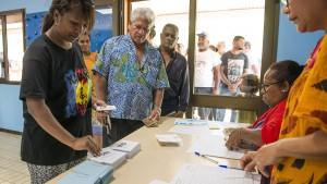 Neukaledonien bleibt Teil Frankreichs