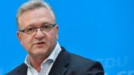 Berliner CDU-Chef Henkel gibt Parteivorsitz auf