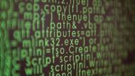 """Quellcode des """"Predictive Policing"""" genannten Computerprogramms zur Bekämpfung von Verbrechen"""