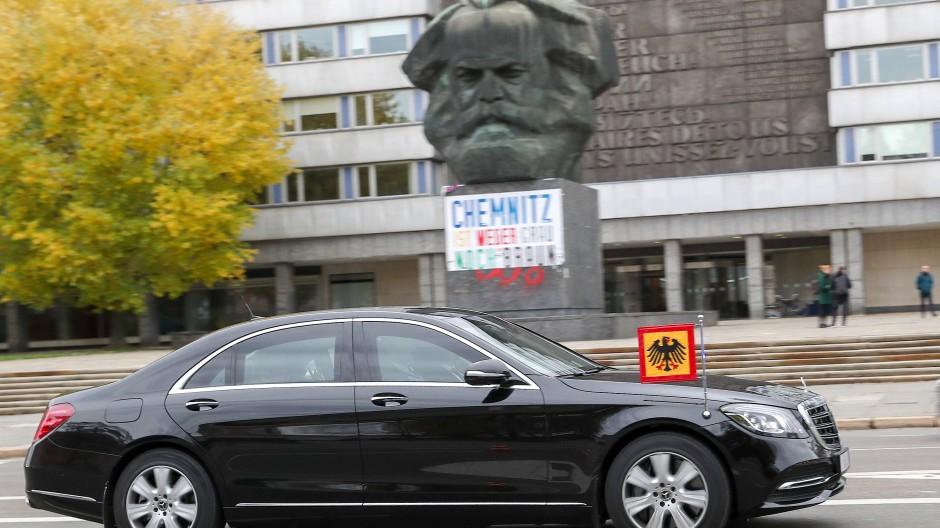 Steinmeier warnt in Chemnitz vor Selbstjustiz