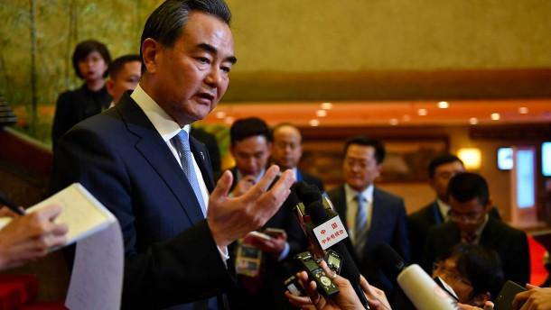 China will neue Sanktionen unterstützen