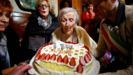 Der älteste Mensch der Welt feiert Geburtstag