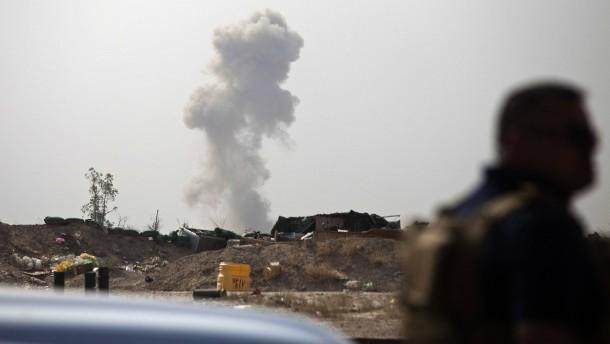 Irakische Armee entdeckt Massengrab