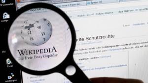 Neue Regeln für die Wikipedia