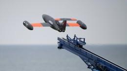 Im Formationsflug über die Ostsee