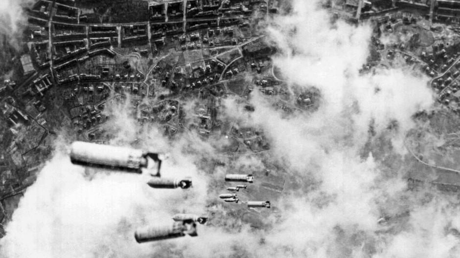 Dresden am 14. Februar 1945