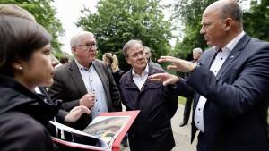 Bundespräsident Steinmeier reist ins Krisengebiet