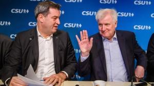 Söder will CSU-Chef werden