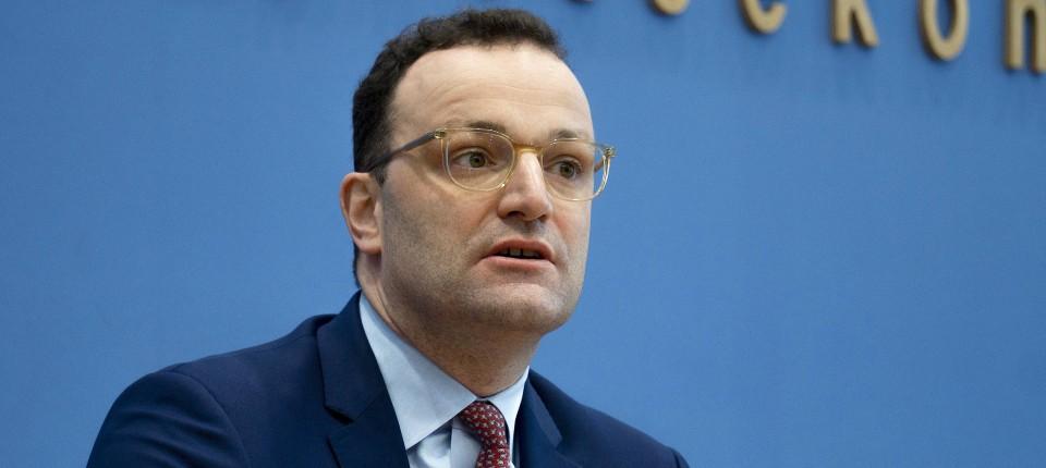 Ziel sei es, die Ausbreitung des Coronavirus zu bremsen, so Bundesgesundheitsminister Jens Spahn.