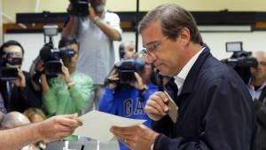 Sieg für portugiesische Konservative