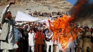 Wieder Gewalt bei antiwestlichen Protesten