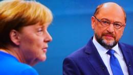 Schulz fordert zweites TV-Duell