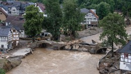 Hochwasser im Westen Deutschlands