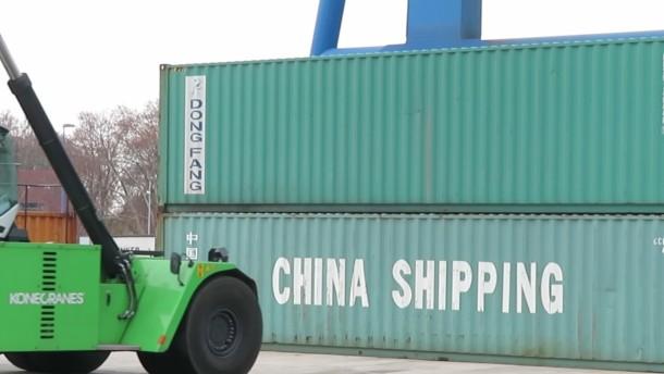 Container aus aller Welt