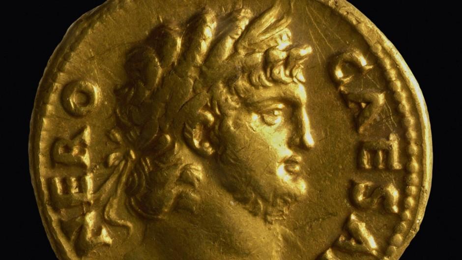 Dicker Hals und Backenbart: Neros Gesicht gehört zu den bekanntesten der Römerzeit.