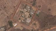 "Satellitenbild der Haftanstalt ""Penitenciária Agrícola de Monte Cristo"" in Boa Vista."