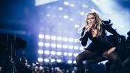 Beyoncé in der WM-Arena in Frankfurt