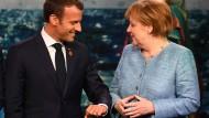 Macron dringt schon lange auf eine Reform der EU – Angela Merkel hat auf seine Avancen eher halbherzig geantwortet.