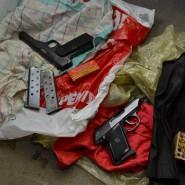 Bei einer Durchsuchung in Schleswig-Holstein hat die Polizei unter anderem auch zwei Pistolen und Munition sichergestellt.