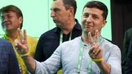 Bester Dinge: Der ukrainische Staatschef Wolodymyr Selenskyj.