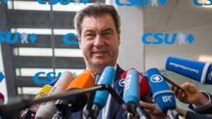 """""""Wir als CSU stehen"""""""