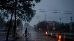 """Hurrikan """"Zeta"""" trifft auf amerikanische Golfküste"""