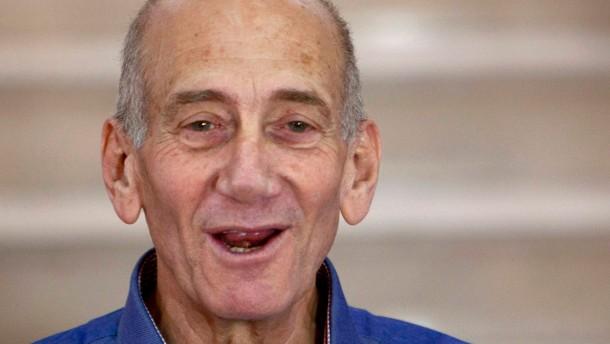 Mildes Urteil für Olmert