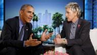 Obama findet Washington ein bisschen deprimierend