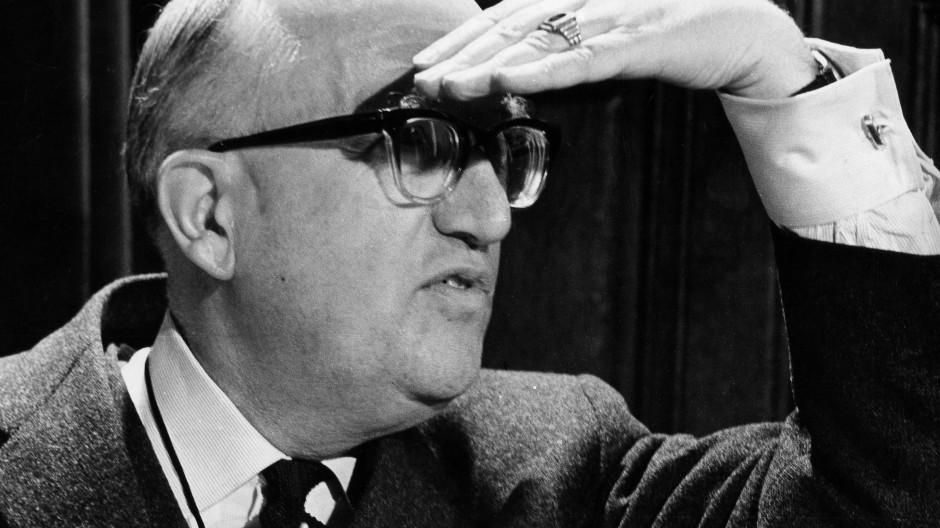 Mann mit Weitblick: Walter Hallstein (CDU), der frühere Präsident der Europäischen Kommission