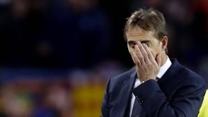 Real Madrid trennt sich von Trainer Lopetegui