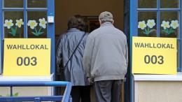 Höhere Wahlbeteiligung in Norddeutschland
