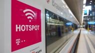 Verkehrsminister fordert Gratis-WLAN in allen Zügen