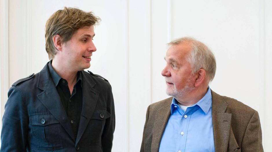 Schiller und Goethe? Nein, Daniel Kehlmann und Rüdiger Safranski vor wenigen Tagen beim Gespräch in Berlin über mystische Momente, gelingendes Leben und große Literatur.