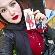 Ein Selbstporträt der Kairoer Studentin Hanin Hossam, das sie vor ihrer Verhaftung auf Twitter veröffentlicht hat.