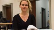 Sieht sich von Bayer geschädigt: Felicitas Rohrer am Donnerstag im Landgericht in Waldshut-Tiengen