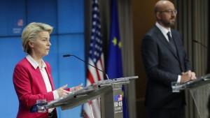 Von der Leyen bestätigt Einigung mit Amerika