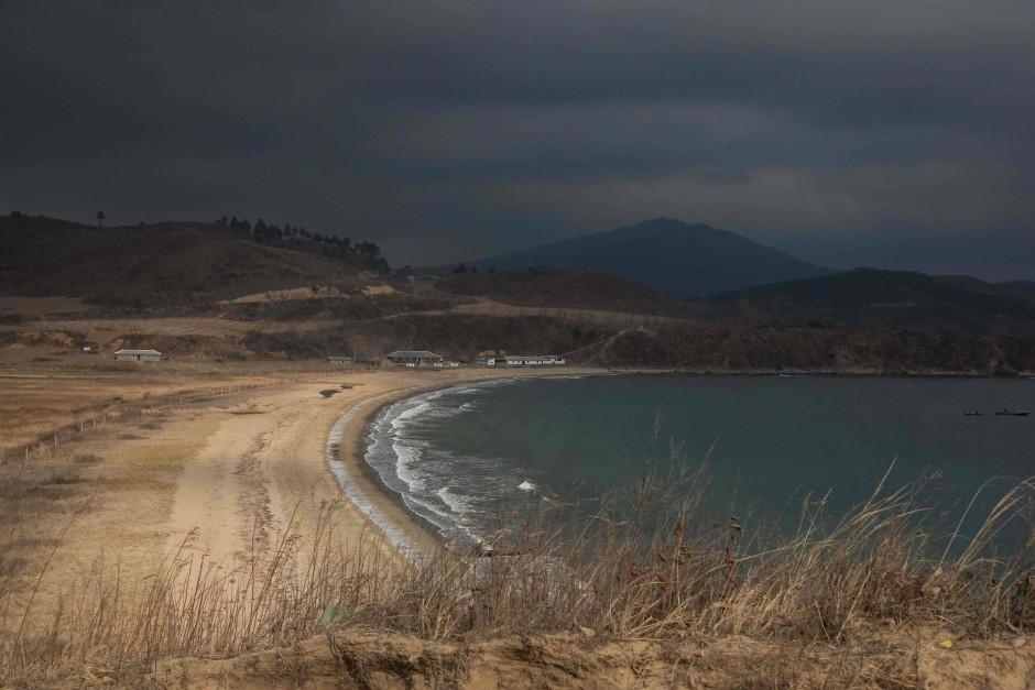 Nordkorea Strand