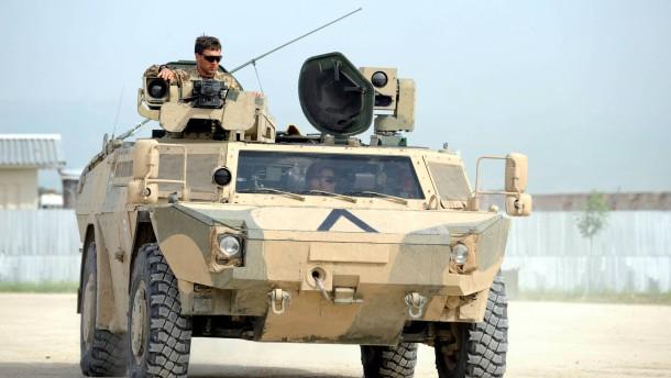 Bundesregierung genehmigt Waffenexporte
