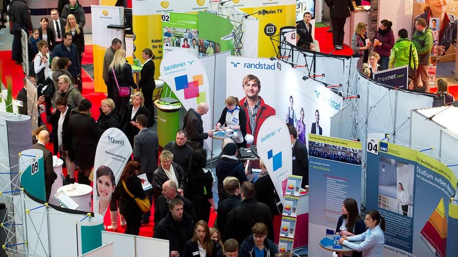 Welcher Bewerber passt zum Unternehmen? Jobmesse in Berlin