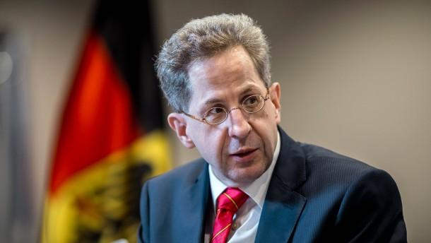 """Herr Maaßen hat mein volles Vertrauen"""