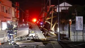 150 Verletzte nach starkem Erdbeben