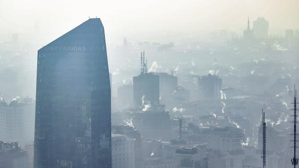 400.000 Europäer sterben jedes Jahr wegen schmutziger Luft