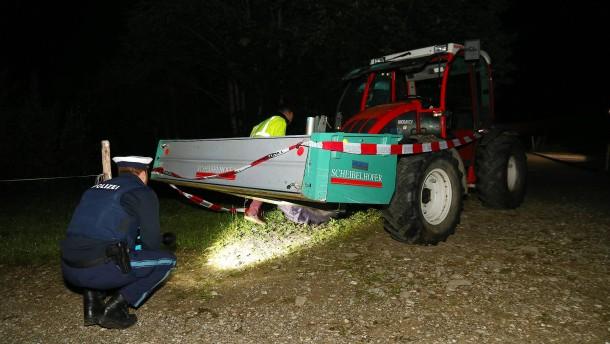Strafbefehl gegen Vater nach tödlichem Traktorunfall im Allgäu