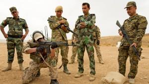 Türkei lässt 200 Peschmerga nach Kobane