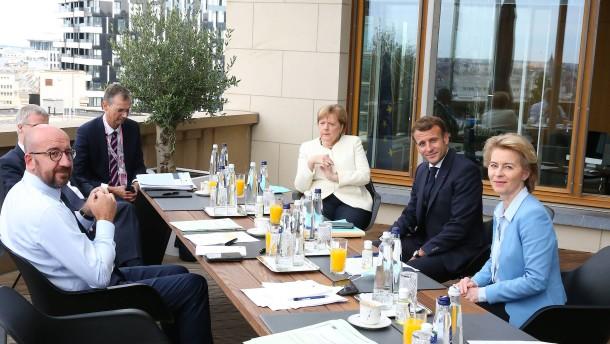 Merkel und Macron warnen vorm Scheitern