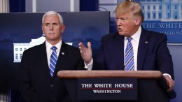 Trump will Teile der Wirtschaft wieder hochfahren